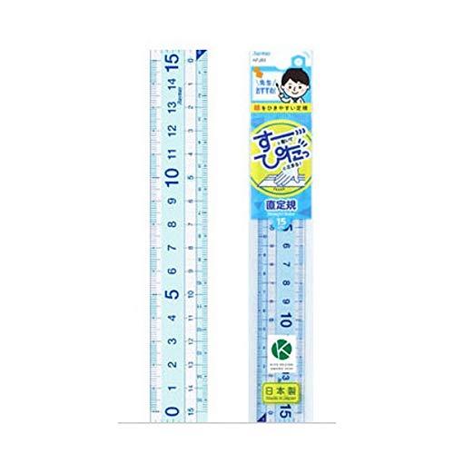 レイメイ 先生おすすめ直定規15cm APJ93 【× 3 個 】