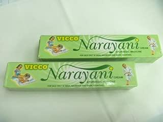 2 X Vicco Narayani Ayurvedic Herbal Pain Relief Cream 30g X 2 = 60gm