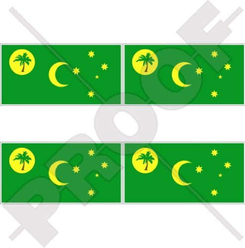 COCOS (KEELING) EILANDEN Vlag Australië, Australische 2