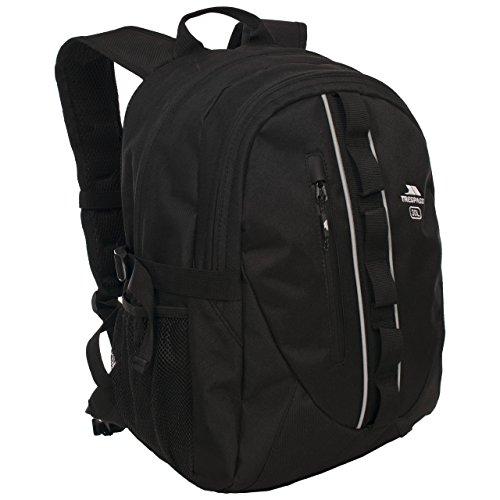 Trespass Deptron Day Backpack/Rucksack (30 Litres) (One Size) (Black)