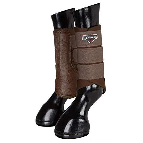 LeMieux ProSport Grafter Unisex laarzen, bruin, maat S, 1 paar