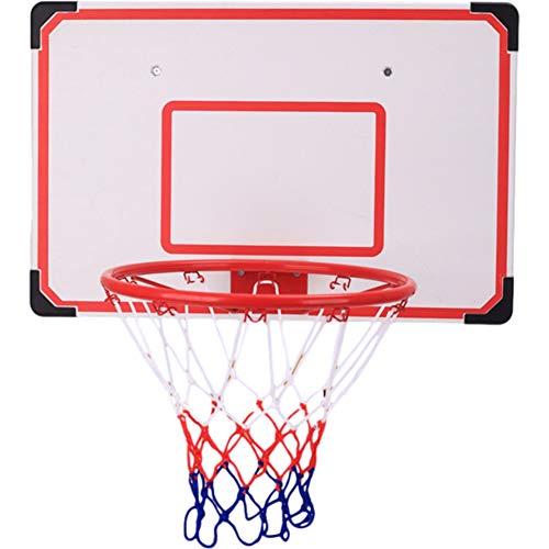 MHCYKJ Canasta Baloncesto Interior Casa Mini Aro De con Tablero Juego Exterior Profesional Puerta Infantil Pared Bola Bomba para Jugar Al Aire Libre En El