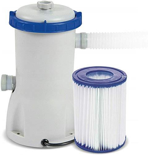 Poolreinigung Set Flowclear BestWay 3.028 l/h Pumpe + Filter Filterpumpe 58386