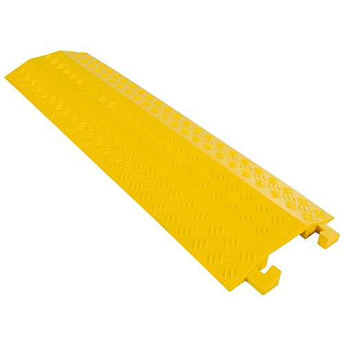 Guardian Industrial Products Rage Powersports DH-CR4-V2 High Traffic Pedestrian/Light Equipment Drop-Over Cable Cover Ramp