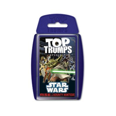 Winning Moves 61120 Top Trumps - Star Wars Rise of the Bounty Hunters, Trumpfspiel