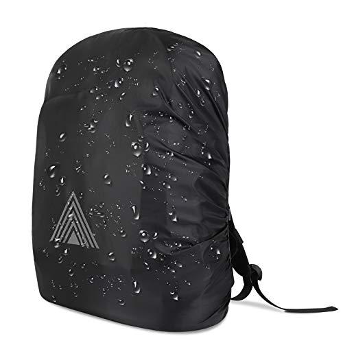 Funda de lluvia para mochilas escolares(15–75 L), protección contra la lluvia para mochila, mochila de senderismo, cubierta impermeable, protección contra el polvo para senderismo, camping y ciclismo