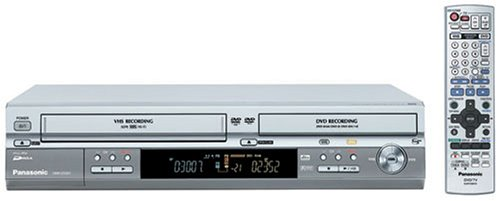 Remanufactured Panasonic DMR-ES30VS Progressive Scan DVD Recorder/VCR Combo (Records to DVD-RAM/-R/-RW/+R Discs)