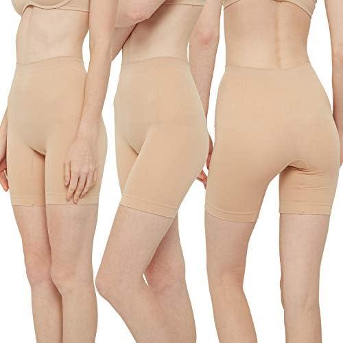 INNERSY Womens Slip Shorts for Under Dresses High Waisted Summer Shorts 3- Pack- Buy Online in Mongolia at mongolia.desertcart.com. ProductId :  189428331.