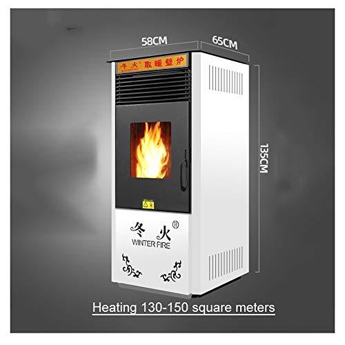 LSF Poêle À Granulés Poêle à granulés biomasse Chauffage Domestique en intérieur Salon Commercial Protection de l'environnement sans fumée Intelligente Cuisinière Automatique Chauffage