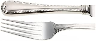 Lenox Vintage Jewel Frosted 5-Piece Stainless Steel Flatware Place Setting, Service for 1, Silver -