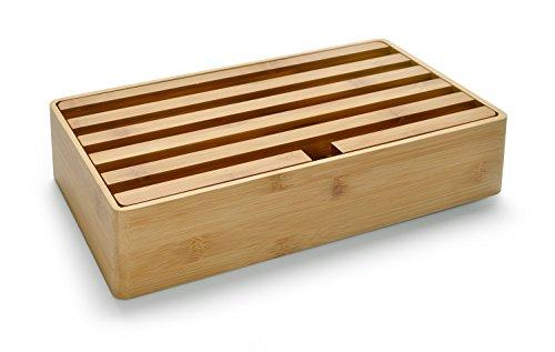ALLDOCK 3.0 Universal-Ladestation Large | 6-fach-USB-Hub je 2400mA = Gesamtleistung 14400m | Holz | Dittrich Design (Bambus)
