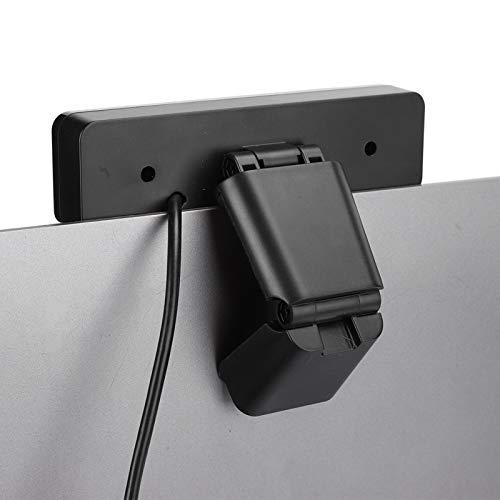 Xuzuyic 1080P HD-Streaming-Computer-Webcam, USB-Kamera mit Mikrofon, Rauschunterdrückung, Web-Camcorder für Live-Telefonkonferenzen, Schwarz