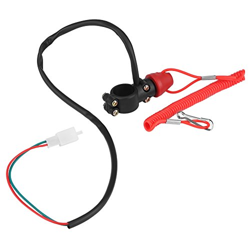 Cuque Motorcycle Engine Switch 2 pcs motorcycle Engine Stop On Off Kill Switch for GX120 GX160