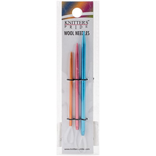 Knitter's Pride Wool Needles Set of 3, Assorted 3 Count
