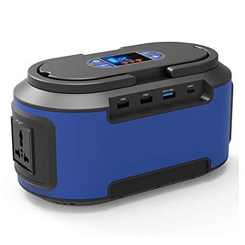 HJGHY Generador Solar Portátil 200W 222WH Estación de Energía Batería de Emergencia Fuente de Alimentación de Respaldo Cargada para CPAP Laptop Home Camping,220V