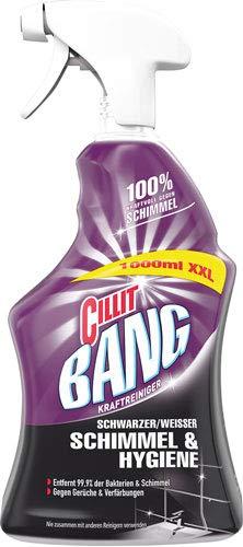 Cillit Bang Kraftreiniger Schwarzer/Weisser Schimmel & Hygiene, Pumpe - 6X 1000 ml