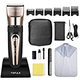 Hair Clippers - Professional Hair Clippers for Men, Men's Beard Trimmer for Hair Cutting, Electric Hair Trimmer for Men Haircut, Cordless Rechargeable Hair Cutting Kit for Barbers with LED Display