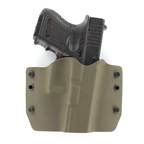 OWB Holster - OD Green (Right-Hand, Fits Glock...