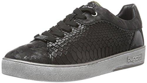 bugatti Damen J76186N Sneaker, Schwarz (schwarz 100), 40 EU