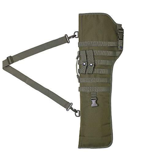 Kylebooker Funda Escopeta Airsoft Caza Rifle Táctico Scabbard Militar (Ejercito Verde)