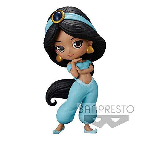 Banpresto Disney Minifigura Q Posket Jasmine, Multicolor (82571)