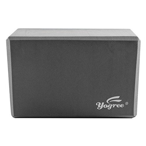 yogree (2-PC Yoga Blocks, 9'x6'x4' - High Density EVA Foam...