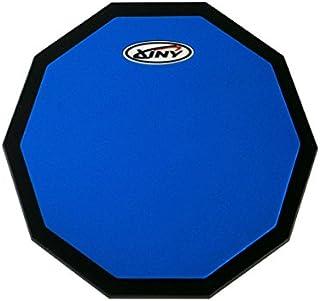 練習用トレーニングパッド 8インチ 片面タイプ/Xiny/Decagon black base plate (ブルー)