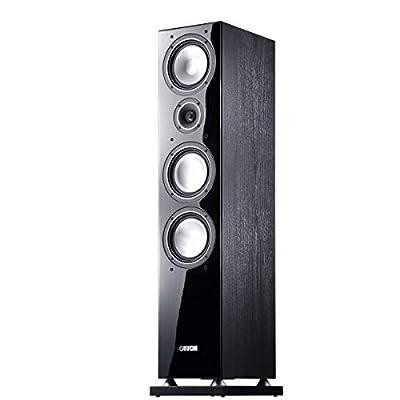 Canton Chrono 519 DC Floor Speaker 160/320 Watt Black by Canton Elektronik GmbH&CoKG