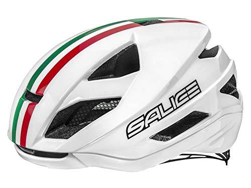 Salice, Casco de Bicicleta Unisex para Adulto, Blanco, XL