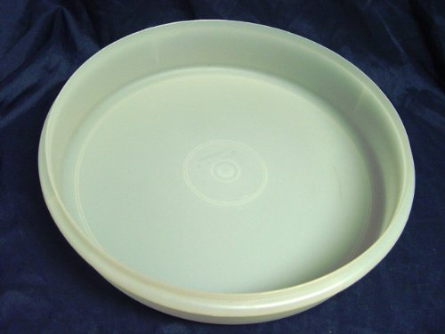 Vintage Tupperware 12' Round Pie Cupcake Taker Storage Container NO LID