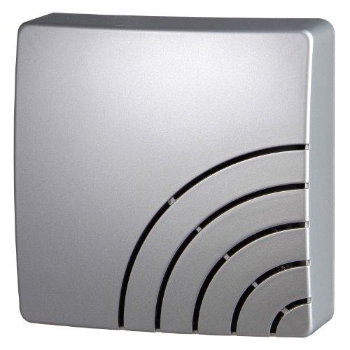 Kopp 291720029 Zweiklang-Gong Quadrat, Silber