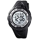 Men's Digital Sports Watch Waterproof Military Tactical Watches for Men with LED Backlight, Stopwatch, Alarm, Army Watch