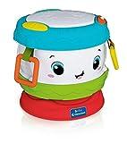 Clementoni Activity Baby Drum, Tamburo Elettronico, Gioco, Strumenti Musicali per Bambini 10 Mesi+, Multicolore, 17409