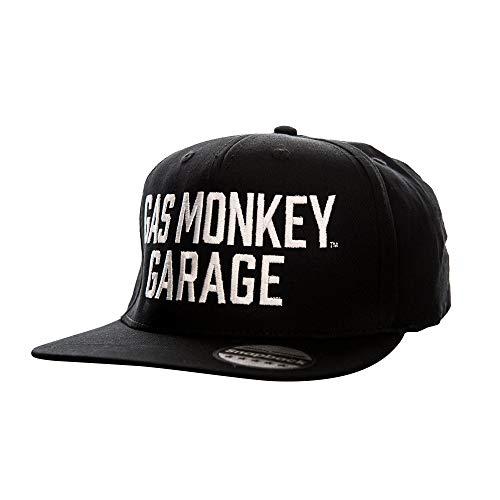 Gas Monkey Garage Offizielles Lizenzprodukt Einstellbare Größe Snapback Kappe (Schwarz)