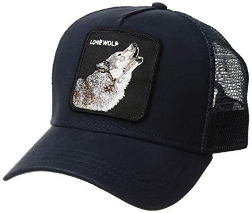 Goorin Bros. Gorra de béisbol para Hombre. Lobo Navy Talla única