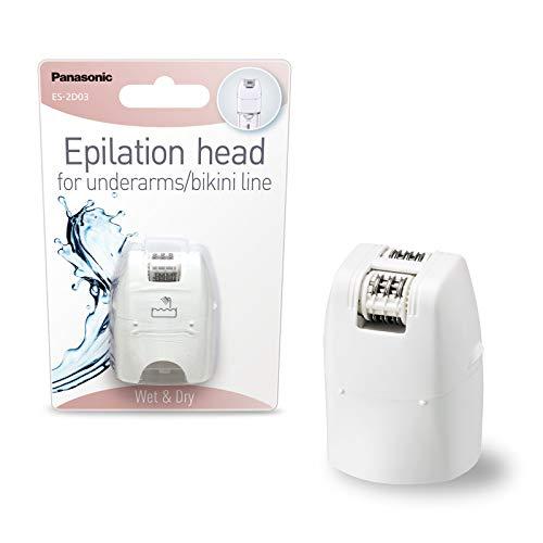 Panasonic Aufsatz Epilierer ES-2D03 / extra schmale Epilierfläche für Achseln & Bikinizone / Aufsatz für DEL8A, ES-EL3A und ES-EL2A