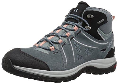 Salomon Women's Ellipse 2 MID LTR GTX Trail Running Shoe, lead, 6 M US