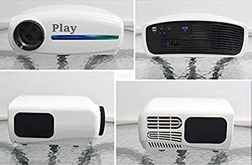 PLAY Latest Android 9.0 Advance Technology Full HD Native 1080p Portable Projector for Home Theater Entertainment Office & Education   7200Lm 4k 3D Full HD LED 3840 x 2160p WIFI Smart Bluetooth Feature   WiFi, VGA, USB, HDMI, AV INPUT, AUDIO with Remote Control Connectivity