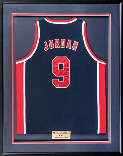 Michael Jordan Signed 1992 Team USA Dream Team Olympics Nike Jersey JSA & UDA