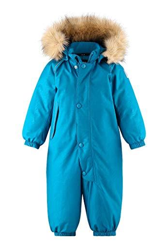 Reima Toddlers Aapua Down Overall Blau, Daunenjacke, Größe 86 - Farbe Dark Sea Blue
