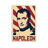 ZXCVW Napoleon-Poster, dekoratives Gemälde, Leinwand,