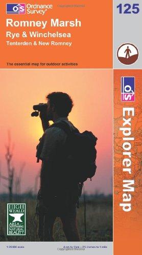 OS Explorer map 125 : Romney Marsh