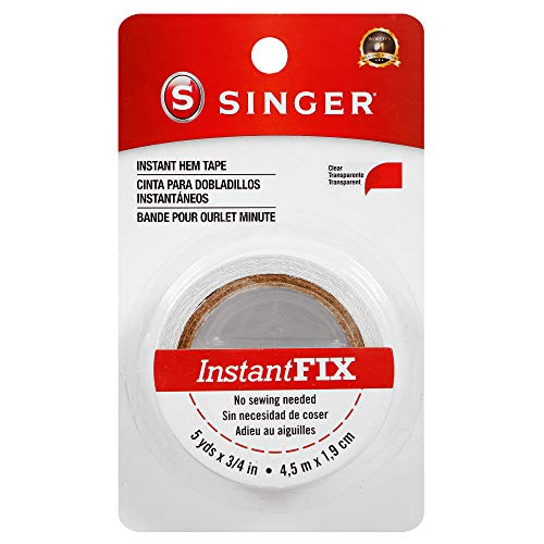 SINGER 00241 Instant Fix Hem Tape, 3/4-Inch by 5-Yards