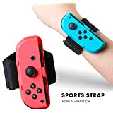 Wrist Band and Leg Strap for Nintendo Switch,...