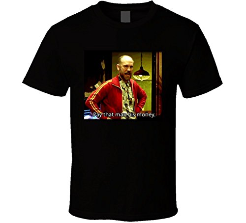 Rounders Movie Teddy KGB Funny Quote Poker T Shirt L Black