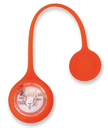 アスカ LED安全ライト SL01R マグネットクリップ式 防滴 レッド
