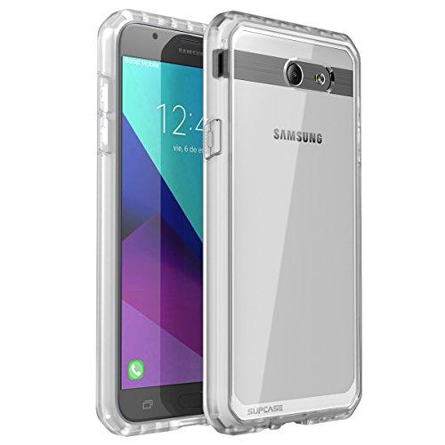 SupCase Unicorn Beetle Series Case for Samsung Galaxy J7 2017, Galaxy Halo 2017,Premium Hybrid Protective Clear Case for Galaxy Halo/J7 2017 (SM-J727), Not fit J7 2018 (SM-J737) (Frost)