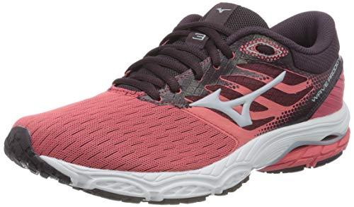 Mizuno Wave Prodigy 3, Zapatillas para Correr Mujer, Ccoral/Hielo Artic, 42 EU