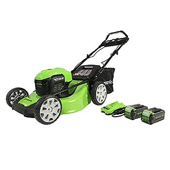 Best greenworks self propelled mower Reviews