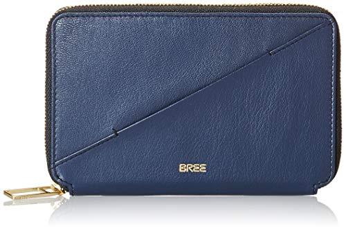 BREE dames Privy 152, Navy Blazer, Travel Wal. W19 portemonnee, blauw, 11,5 x 2,5 x 16,5 cm